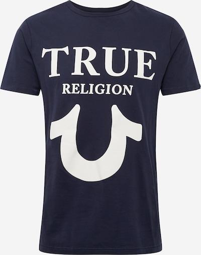 Tricou True Religion pe navy / alb, Vizualizare produs