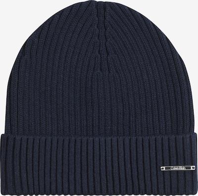 Calvin Klein Beanie in dunkelblau, Produktansicht