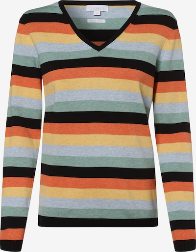 Brookshire Pullover in blau / gelb / grün / orange / schwarz, Produktansicht