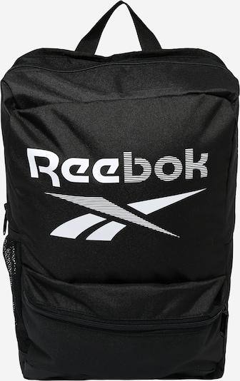 REEBOK Sac à dos de sport en noir / blanc, Vue avec produit
