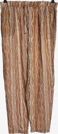 Esmara Baggy Pants in M in braun / rot / weiß, Produktansicht