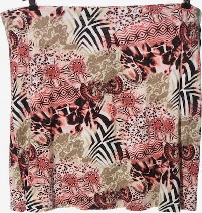 Laura T. Minirock in 4XL in braun / pink / weiß, Produktansicht
