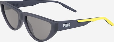PUMA Sonnenbrille in gelb / grau, Produktansicht