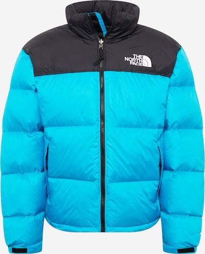 THE NORTH FACE Winterjas '1996 RTO NUPTSE' in de kleur Turquoise / Zwart, Productweergave