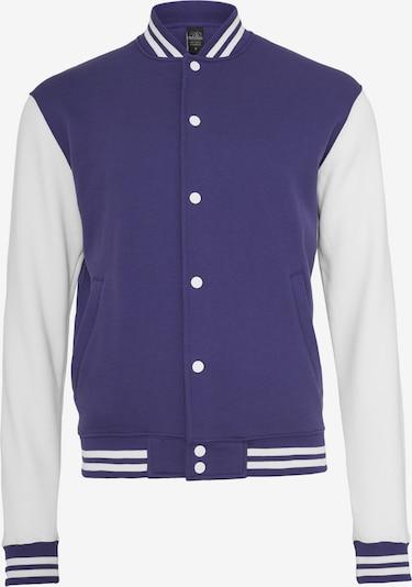 Urban Classics Prechodná bunda - fialová / biela, Produkt