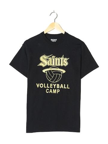 Gildan Top & Shirt in S in Black