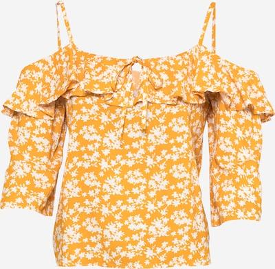 ABOUT YOU Chemisier 'Jeanette' en jaune / blanc, Vue avec produit