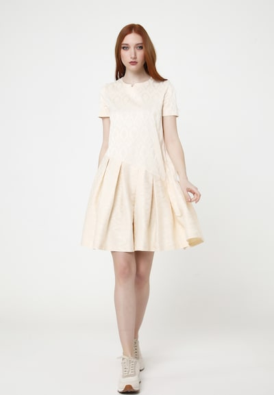 Madam-T Sommerkleid 'DEMETER' in beige, Modelansicht