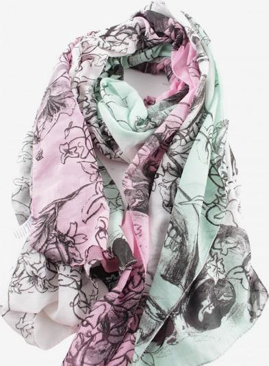 Bijou Brigitte Sommerschal in One Size in grün / pink, Produktansicht