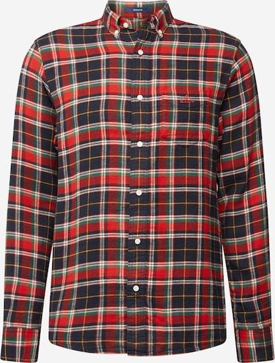GANT Košile - tmavě modrá / zelená / červená / červená třešeň / bílá, Produkt