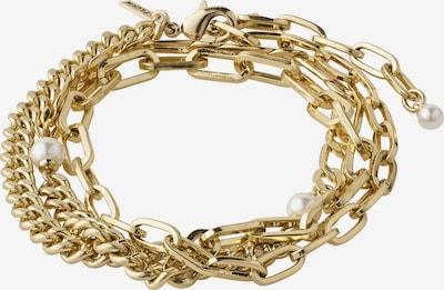 Pilgrim Bracelet en or / blanc, Vue avec produit
