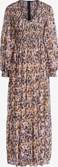 SET Kleid in hellgelb / flieder / dunkellila / orange / weiß, Produktansicht