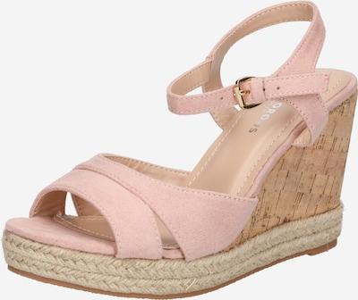 Sandale cu baretă GLAMOROUS pe bej, Vizualizare produs