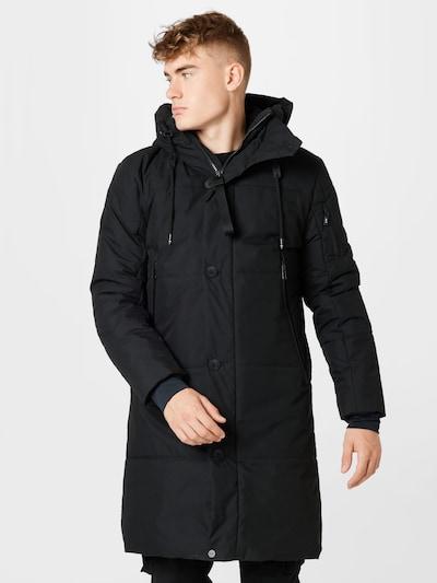 g-lab Wintermantel 'PEAK' in schwarz, Modelansicht