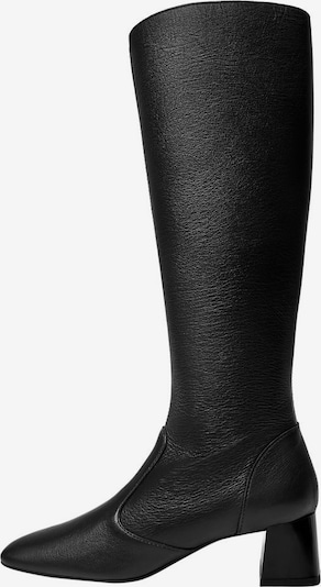 MANGO Kozaki 'Aire' w kolorze czarnym, Podgląd produktu