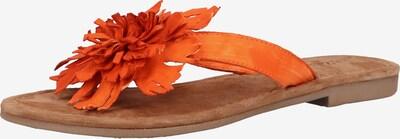 LAZAMANI Sandale in orange, Produktansicht