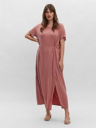 Vero Moda Curve Kleid 'Ava Lulu' in altrosa, Modelansicht