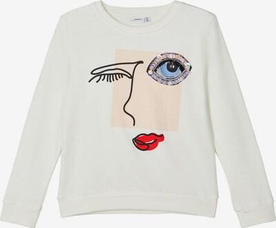 NAME IT Sweatshirt in weiß, Produktansicht
