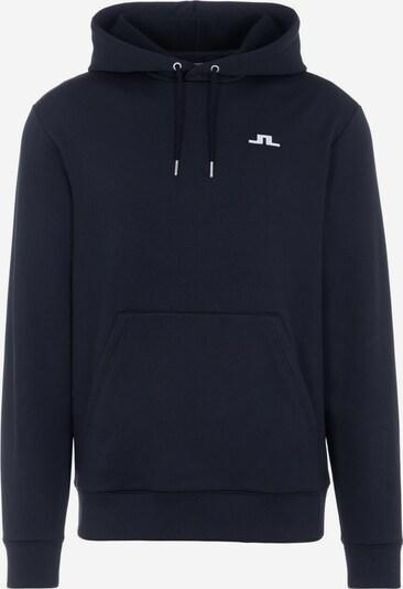 J.Lindeberg Sportsweatshirt in de kleur Donkerblauw / Wit, Productweergave