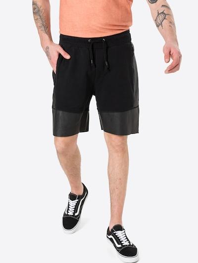Pantaloni 'Cain' tigha di colore nero, Visualizzazione modelli