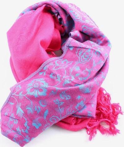Pashmina Fransenschal in One Size in blau / pink, Produktansicht