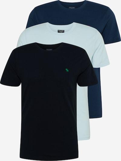 Abercrombie & Fitch Tričko 'FRINGE' - námořnická modř / světlemodrá / černá, Produkt