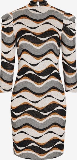 Ana Alcazar Jurk in de kleur Bruin / Grijs / Zwart / Wit, Productweergave