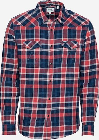 WRANGLER Hemd in navy / rot / weiß, Produktansicht