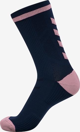 Hummel Chaussettes de sport en marine / rose, Vue avec produit