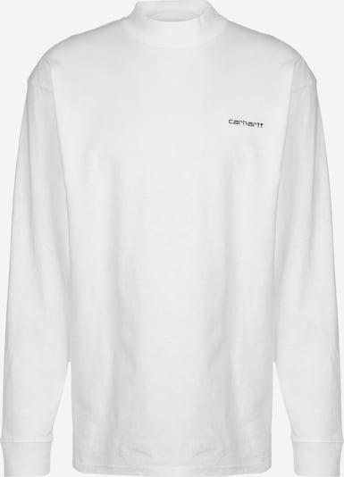 Carhartt WIP Sweat-shirt 'Script Embro ' en blanc: Vue de face