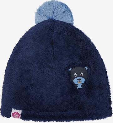 Affenzahn Kindermütze 'Bär' in Blau