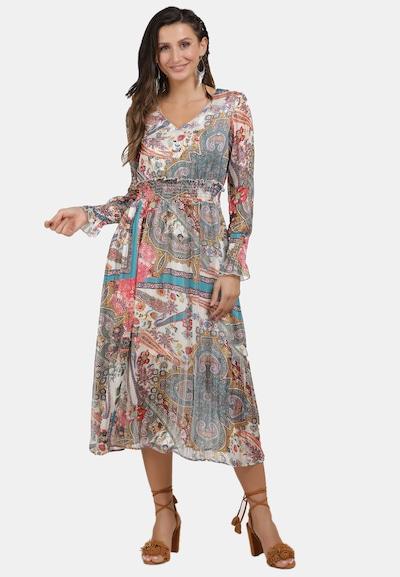 usha FESTIVAL Kleid in beige / mischfarben, Modelansicht