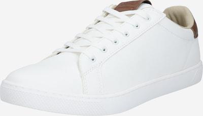 JACK & JONES Sneaker low 'LYLE' i karamel / hvid, Produktvisning