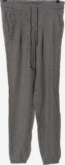 Brandy Melville Stoffhose in M in schwarz / wollweiß, Produktansicht