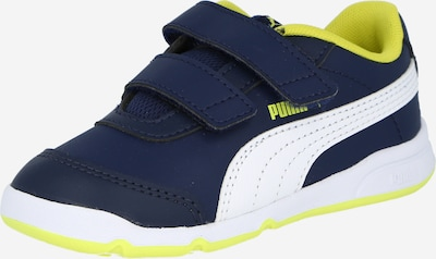 PUMA Sneaker 'Stepfleex 2 SL VE V' in dunkelblau / neongelb / weiß, Produktansicht
