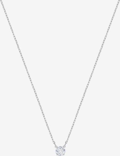 Swarovski Kette in silber / transparent, Produktansicht