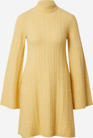 EDITED Плетена рокля 'Madalyn' в жълто