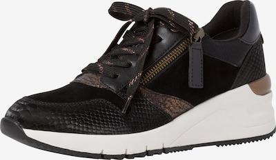 Sneaker low TAMARIS pe auriu / negru, Vizualizare produs