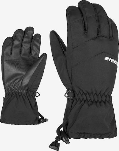 ZIENER Skihandschuhe 'LETT AS(R) glove junior' in schwarz, Produktansicht