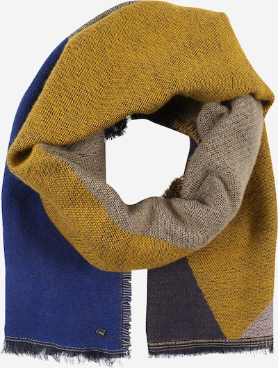ESPRIT Szalik w kolorze niebieski / granatowy / jasnobrązowy / ciemnożółtym, Podgląd produktu