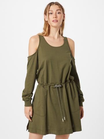 DIESEL Φόρεμα 'TOCKS' σε πράσινο