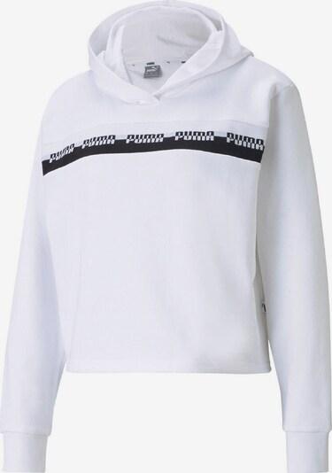 PUMA Sweatshirt 'Amplified Cropped' in schwarz / weiß, Produktansicht