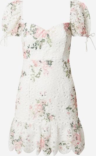 Love Triangle Ljetna haljina u zelena / roza / bijela, Pregled proizvoda