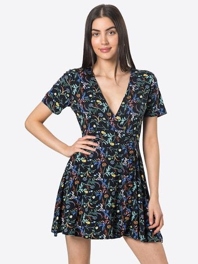 24COLOURS Kleid in blau / gelb / grasgrün / rot / schwarz, Modelansicht