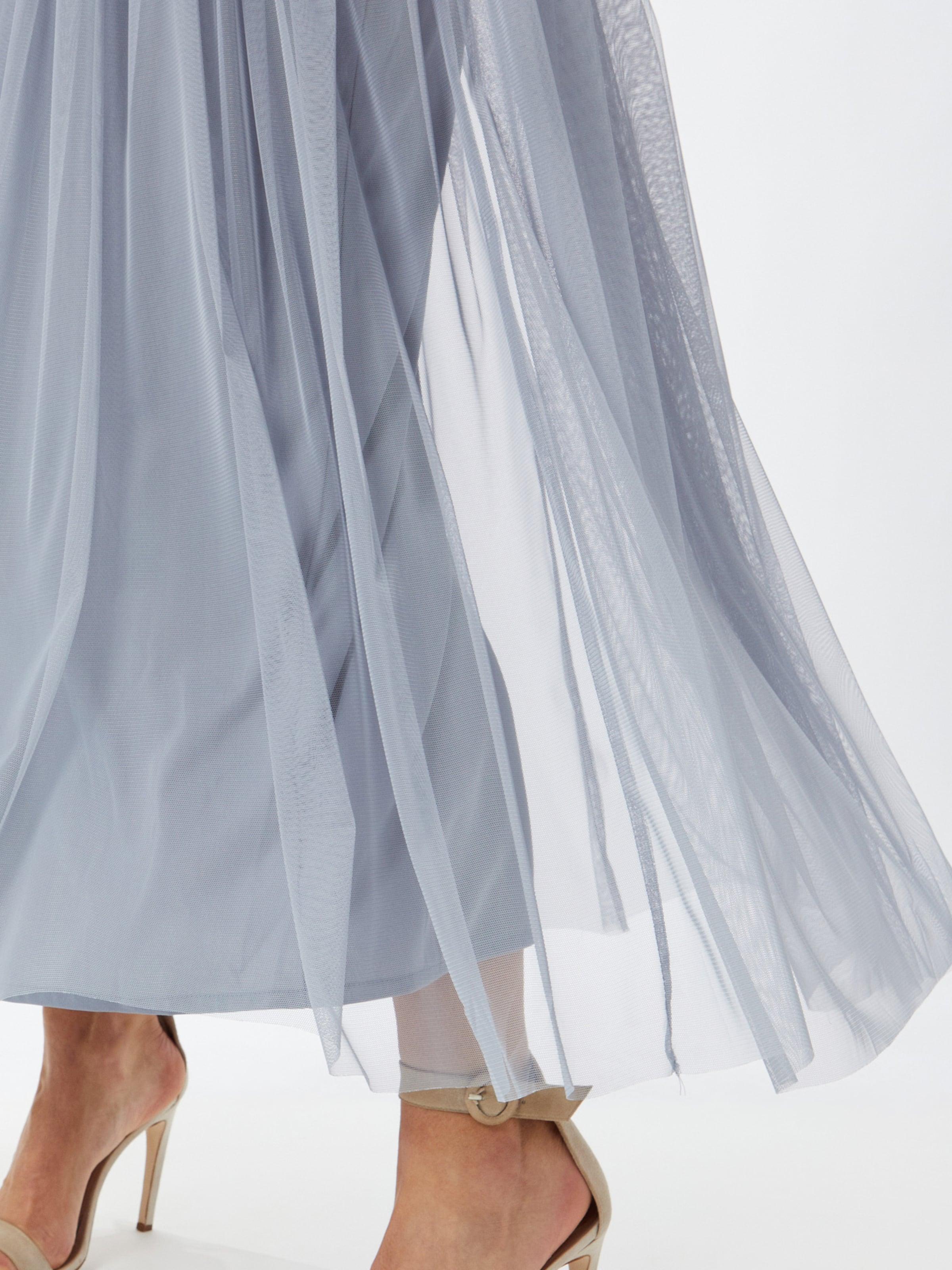 Maya Deluxe Kleid in hellblau