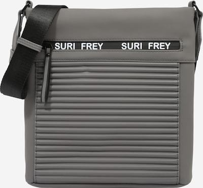 Geantă de umăr 'Carry' Suri Frey pe gri argintiu / alb, Vizualizare produs