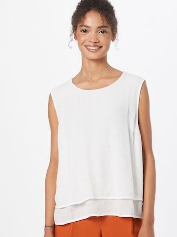 OPUS Bluse 'Fips' i hvit