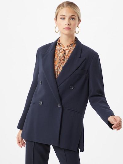 Blazer švarkas iš Ottod'Ame , spalva - tamsiai mėlyna, Modelio vaizdas