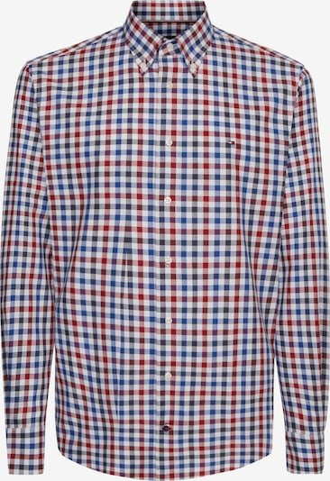 TOMMY HILFIGER Hemd in blau / rot / weiß, Produktansicht