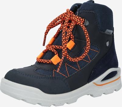 Sniego batai 'Jago' iš Pepino , spalva - nakties mėlyna / tamsiai mėlyna / tamsiai oranžinė, Prekių apžvalga